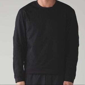 NWT BLACK LULULEMON MEN NYC LAB THE PULLOVER SMALL